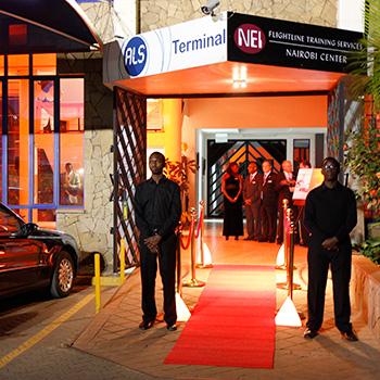 Nairobi Entrance during Grand Opening